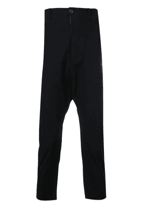 A Diciannoveventitre cropped trousers - Black