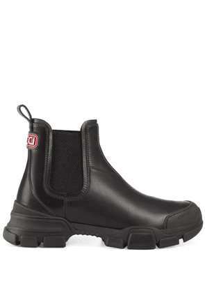 Gucci trekking style Chelsea ankle boots - Black