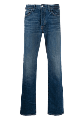 RE/DONE faded slim jeans - Blue