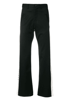 Enfants Riches Déprimés side stripe trousers - Black