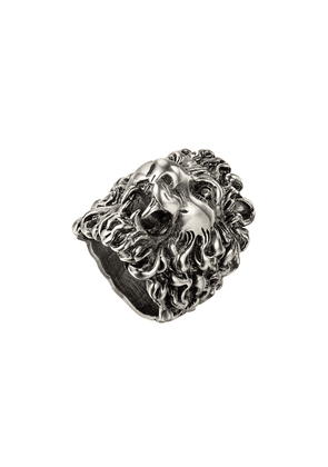Gucci Ring with lion head - Silver