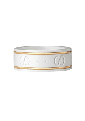 Gucci 18kt yellow gold Icon ring - 8062