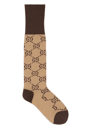 Gucci Interlocking G socks - Neutrals