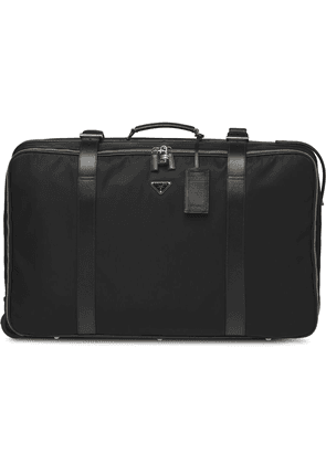 Prada logo plaque suitcase - Black