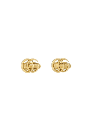 Gucci 18kt yellow gold GG Running cufflinks - 8000