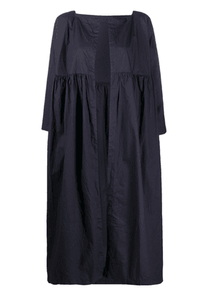 Daniela Gregis oversized open-front coat - Blue