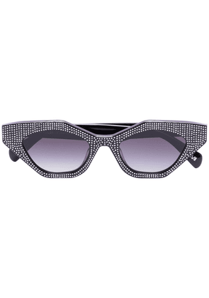 Chimi Space Star embellished sunglasses - Black