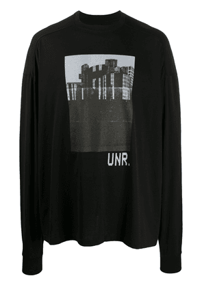 UNRAVEL PROJECT Town oversized T-shirt - Black