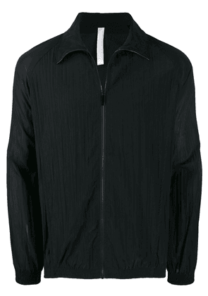 Cottweiler zip front track jacket - Black