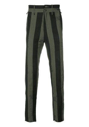 Damir Doma striped trousers - Green