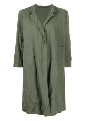 Daniela Gregis crinkled-effect jacket - Green