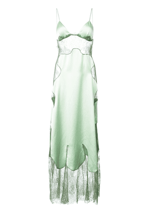 Off-White lace dress - Green