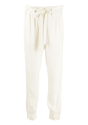 Chufy loose fit tapered trousers - Neutrals