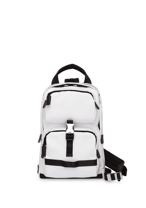 Prada Technical fabric backpack - White