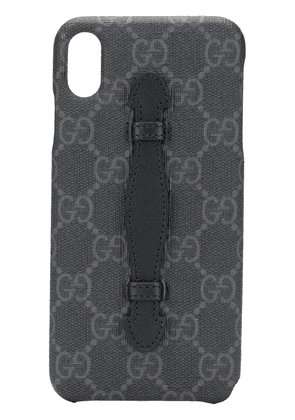 Gucci GG pattern iPhone XS Max case - Black