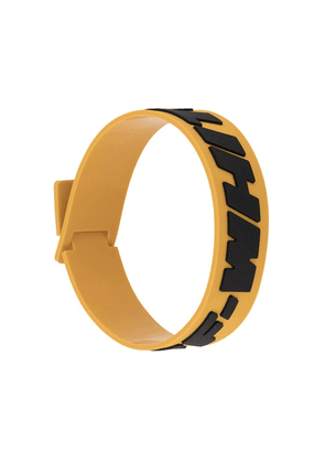 Off-White 2.0 Industrial bracelet - Yellow