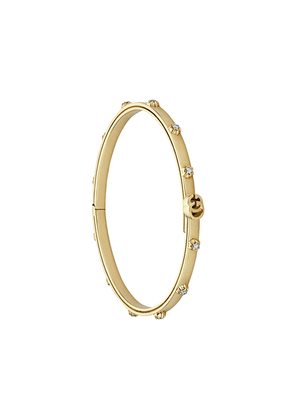 Gucci 18kt yellow gold GG Running diamond bracelet