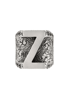 Gucci Z letter ring - Silver