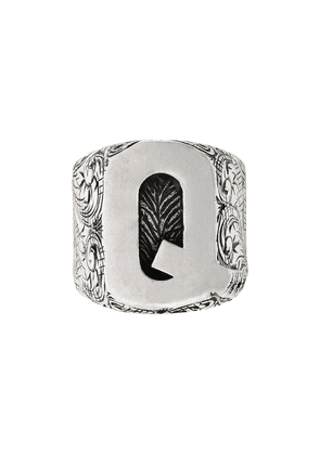 Gucci Q letter ring - Silver