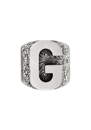 Gucci G letter ring - Silver