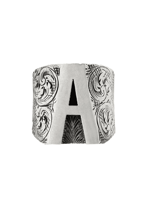 Gucci A letter ring - Silver