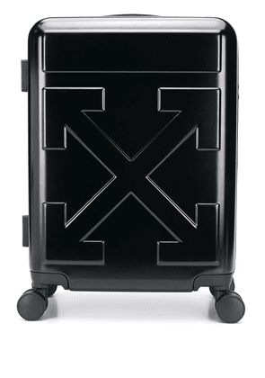 Off-White Quote carry-on trolley - Black