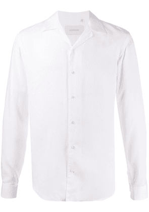 Costumein spread-collar long-sleeve shirt - White