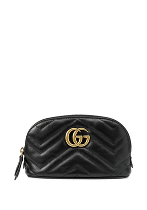 Gucci GG Marmont make-up bag - Black