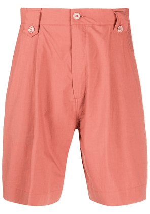 Costumein high-waisted cargo shorts - PINK