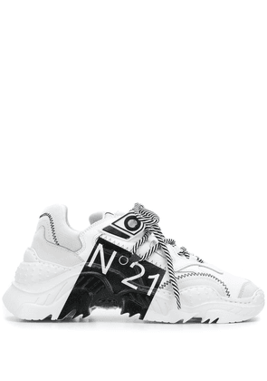 Nº21 Limited edition Billy Sneakers - White