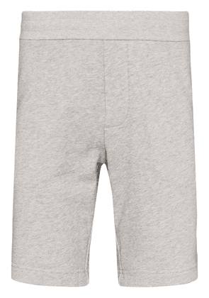 Moncler striped cotton track shorts - Grey