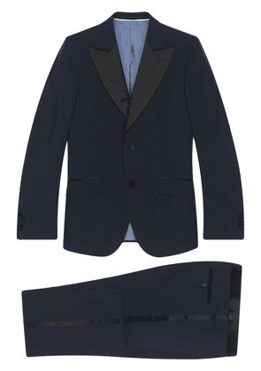 Gucci Heritage single-breasted tuxedo - Blue