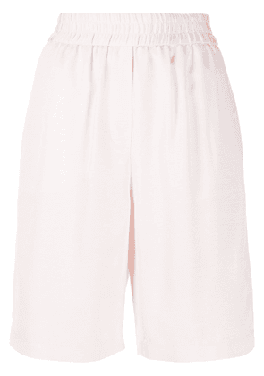 Frenken high-rise track shorts - PINK