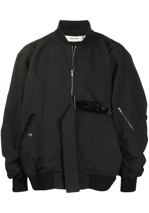Damir Doma oversized belted bomber jacket - Black