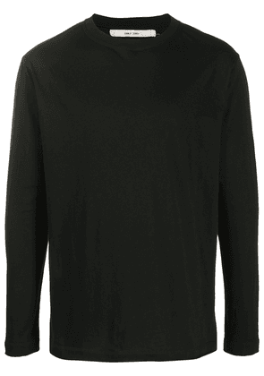 Damir Doma back-button long-sleeve T-shirt - Black