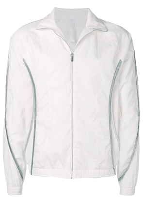 Cottweiler sports zipped jacket - White