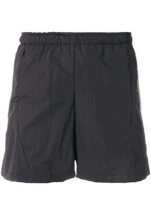 Cottweiler stripe detail running shorts - Black