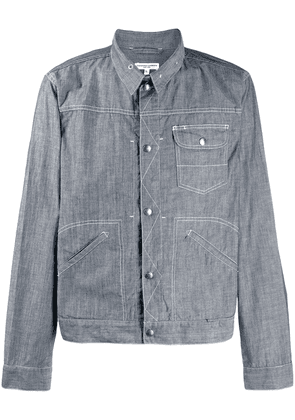 Engineered Garments long-sleeve denim shirt - Blue