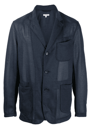 Engineered Garments single-breasted coat - Blue