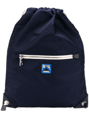 Prada drawstring backpack - Blue