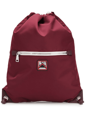 Prada drawstring backpack - Red