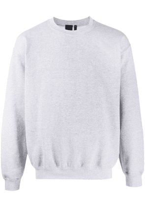 Blood Brother Waiver long sleeve sweater - Grey