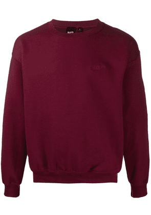 Blood Brother Waiver long sleeve sweater - Red