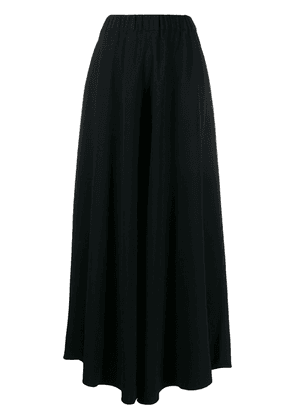 Biyan high-waisted palazzo trousers - Black