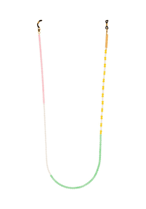 Frame Chain Candy Lace beaded sunglasses chain - Yellow