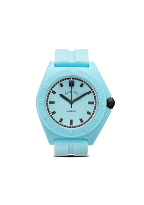 Bamford Watch Department Mayfair Sport 40mm watch - AQUA