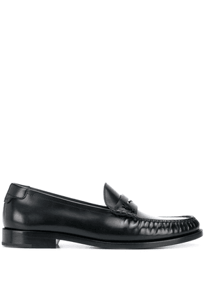 Saint Laurent Monogram penny loafers - Black