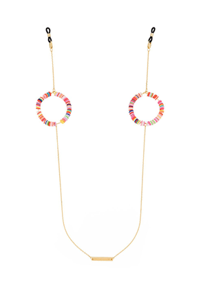 Frame Chain Candy Pop beaded sunglasses chain - PINK