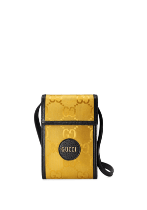 Gucci Off the Grid GG Supreme phone pouch - Yellow