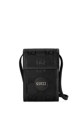 Gucci Off The Grid GG Supreme phone pouch - Black